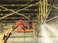 Nettoyage de structures métalliques