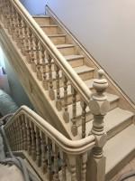 Décapage d'escalier