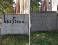Enlèvement de graffiti